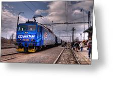 Czech Express Greeting Card