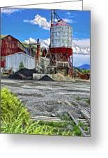 D And Rg Rail Yard In Salida Co Greeting Card