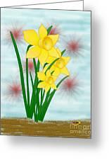 Daffodills Greeting Card