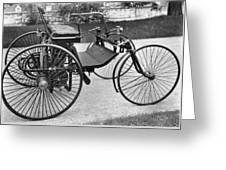 Daimler Automobile, 1889 Greeting Card