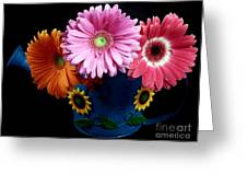 Daisy Can Greeting Card