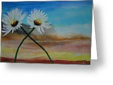 Daisy Mates Greeting Card