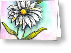 Daisy Thoughts Greeting Card