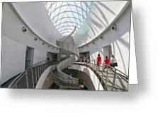 Dali Stairs Greeting Card