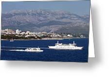 Dalmatian Coast Greeting Card