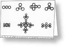 Daltons Symbols Greeting Card