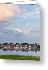 Damariscotta Sky Greeting Card