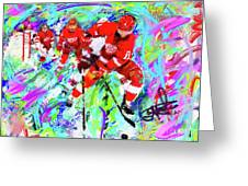 Dan Cleary And 5 Greeting Card
