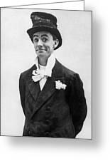 Dan Leno (1860-1904) Greeting Card