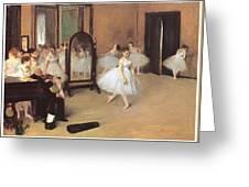 Dance Class Greeting Card