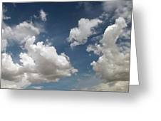 Dance Of The Clouds - Series Greeting Card