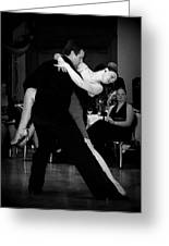Dance Room Drama Greeting Card