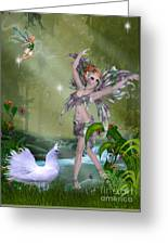 Dances In The Woodlands Greeting Card