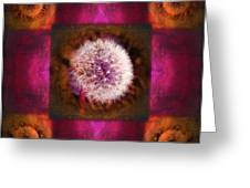 Dandelion In Flame Greeting Card