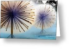 Dandylion Fountains Greeting Card