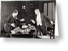 Daredevil Jack, 1920 Greeting Card