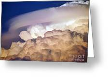 Dark Clouds - 2 Greeting Card by Graham Taylor