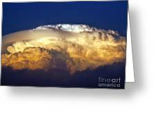 Dark Clouds - 3 Greeting Card