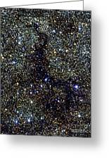Dark Nebula, G11.11-0.12, Infrared Image Greeting Card