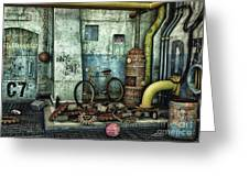 Dark Places Tell Stories Greeting Card