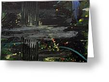 Dark Space Greeting Card