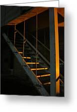 Dark Stairway Greeting Card