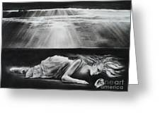 Darkness Falls Upon Me Greeting Card