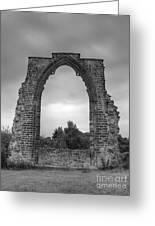 darley Abbey arch Greeting Card