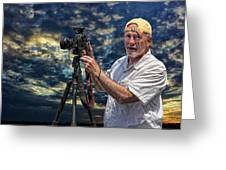 Dave Bell - Photographer Greeting Card