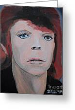 David Bowie The Early Years Greeting Card