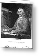 David Rittenhouse Greeting Card