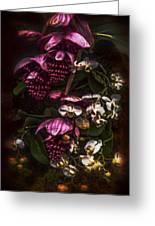 Davinci Orchid Wall Greeting Card