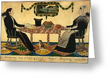 Davis: Montgomerys, 1836 Greeting Card