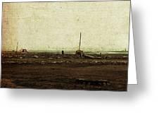 Dawn On The Lake Greeting Card