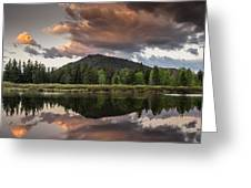 Dawn On The Snake River Greeting Card