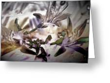 Day Lilies - Abstract Greeting Card