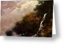 Daybreak Falls Greeting Card