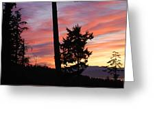 Daybreak On The Island Greeting Card