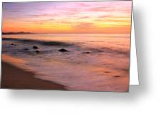 Daybreak Seascape Greeting Card