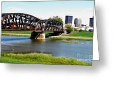 Dayton Ohio Greeting Card