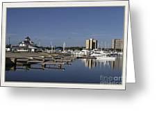 Daytona Boat Launch Greeting Card