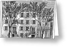 D.c.: Petersen House Greeting Card