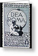 Dea Roma Greeting Card