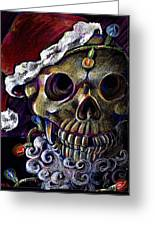 Dead Christmas Greeting Card