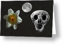 Death And The Daffodil  Greeting Card