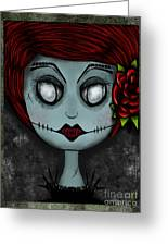 Death Becomes Her Greeting Card