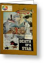 Death Of A Star Greeting Card by Adam Kissel