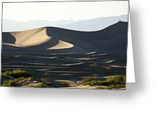 Death Valley Dunes Greeting Card