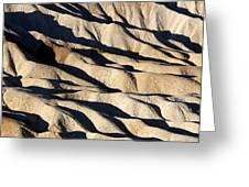Death Valley Erosion Greeting Card