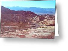 Death Valley Mountains 2 Greeting Card